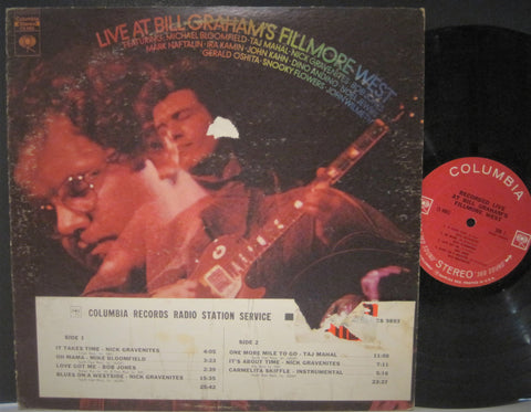 Mike Bloomfield & Nick Gravenites - Live at Bill Graham's Fillmore West