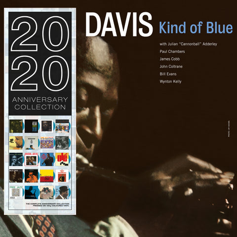 Miles Davis - Kind of Blue - 180g import on colored vinyl 20/20 series