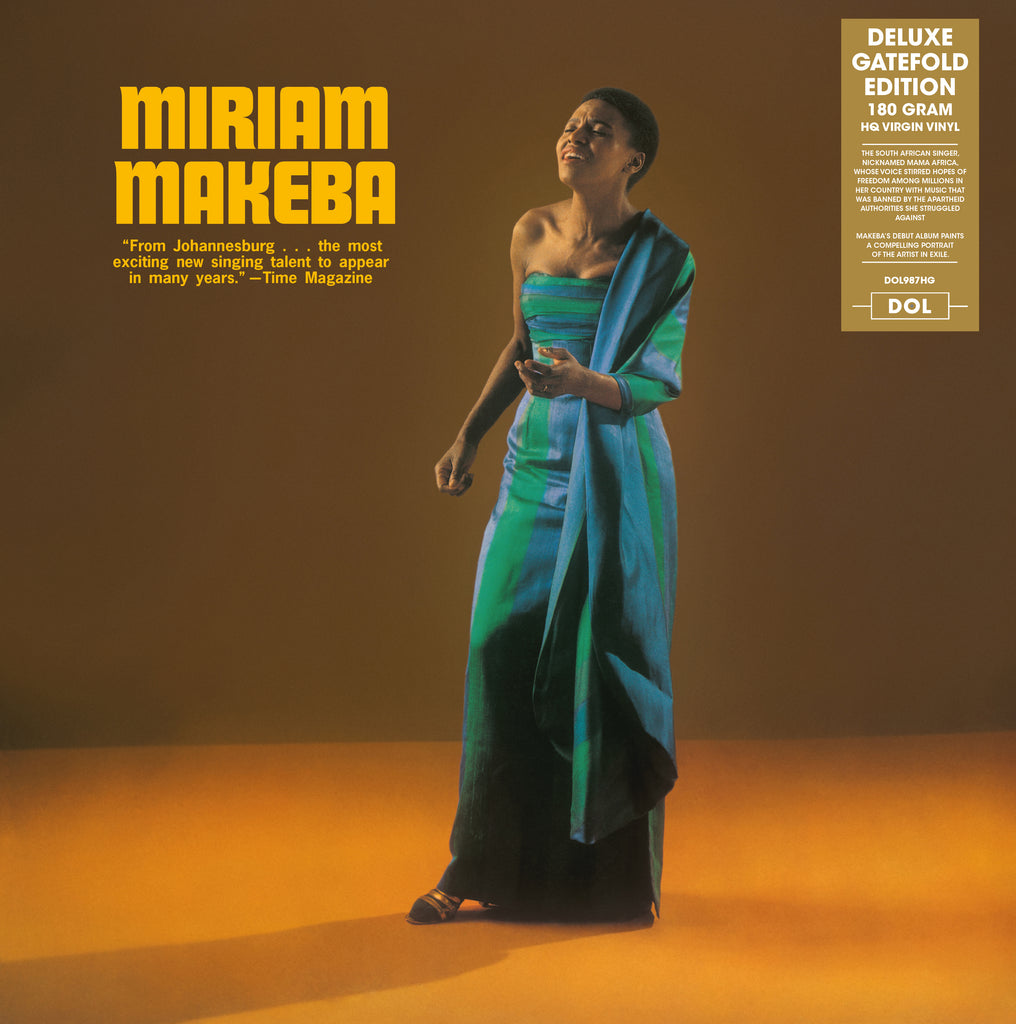 Miriam Makeba - s/t US debut - import 180g LP recorded live
