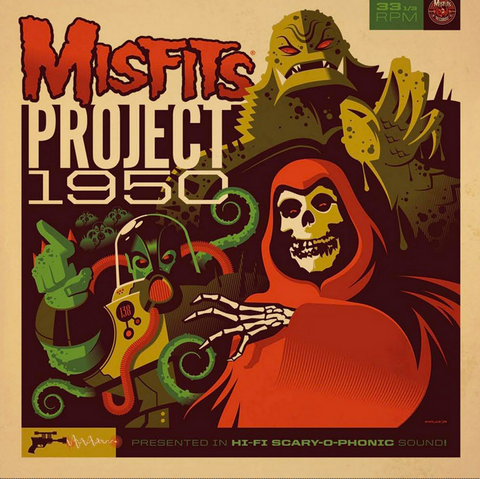 Misfits - Project 1950 - limited edition colored vinyl