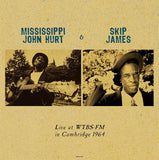 Mississippi John Hurt & Skip James Live in 1964 - import 180g LP