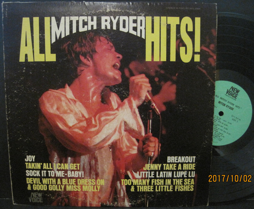 Mitch Ryder and The Detroit Wheels - All Hits