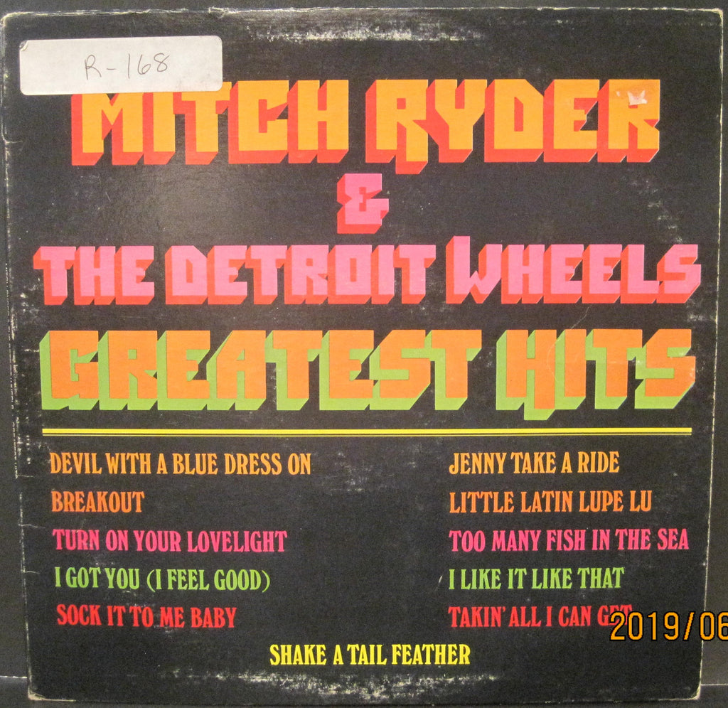 Mitch Ryder and The Detroit Wheels - Greatest Hits