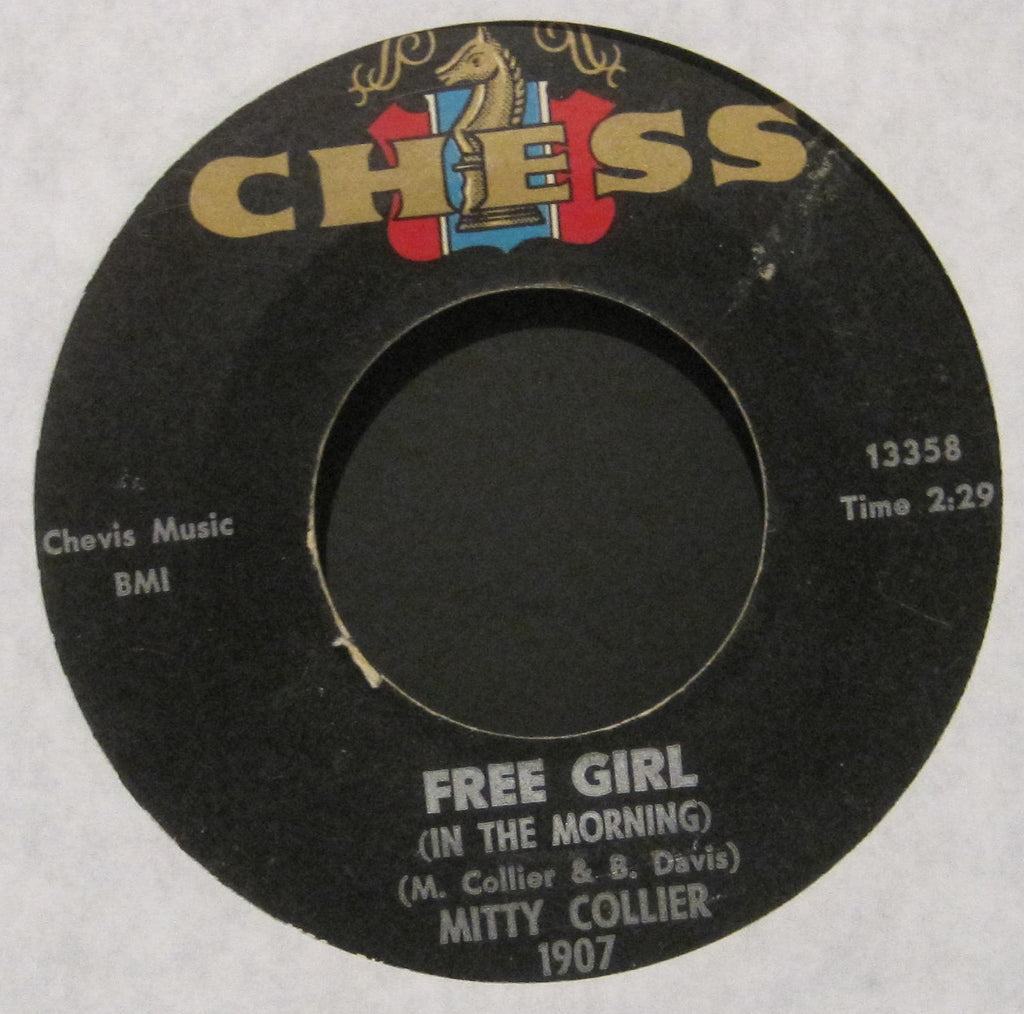 Mitty Collier - Free Girl (In The Morning) b/w I Had a Talk with My Man