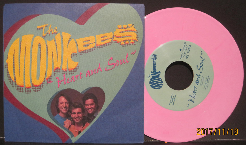 Monkees - Heart and Soul b/w MGBGT