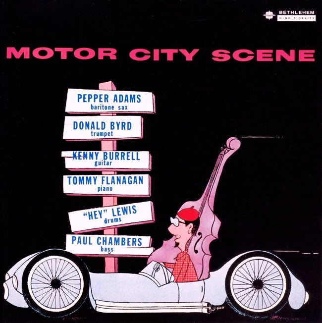Donald Byrd, Pepper Adams...Motor City Scene