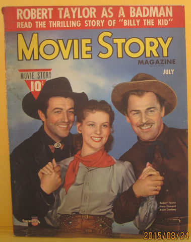 Movie Story Magazine July 1945 Robert Taylor