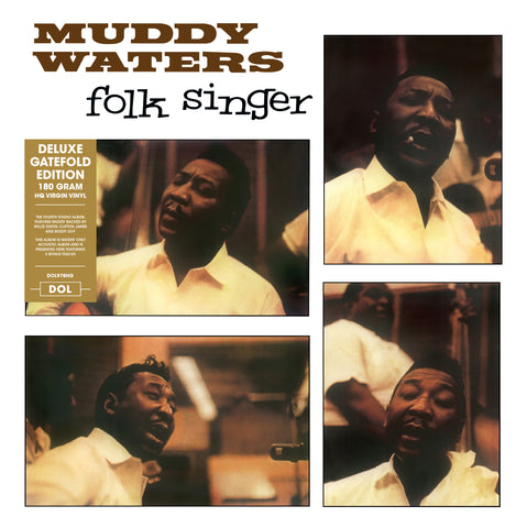 Muddy Waters - Folk Singer - 180g w/ exclusive gatefold jacket + 5 Bonus Tracks!!