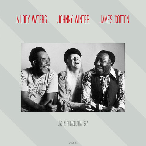 Muddy Waters - James Cotton - Johnny Winter Live in 1977 - 180g import LP