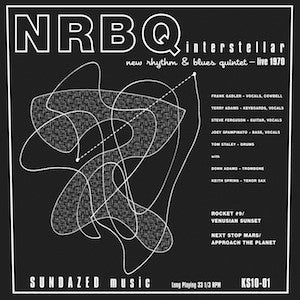 NRBQ - Interstellar 10""