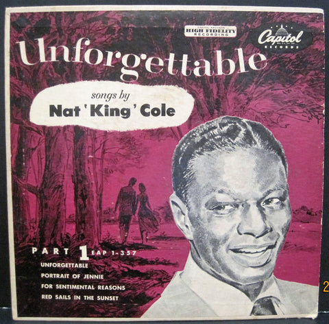 Nat 'King' Cole - Unforgettable Ep Part 1