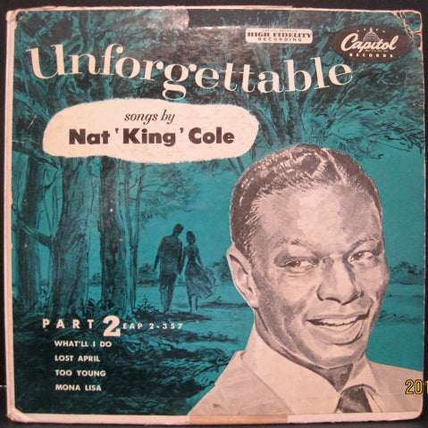 Nat 'King' Cole - Unforgettable Ep Part 2