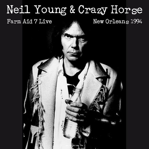 Neil Young & Crazy Horse Live at Farm Aid 1994 - import 180g colored vinyl