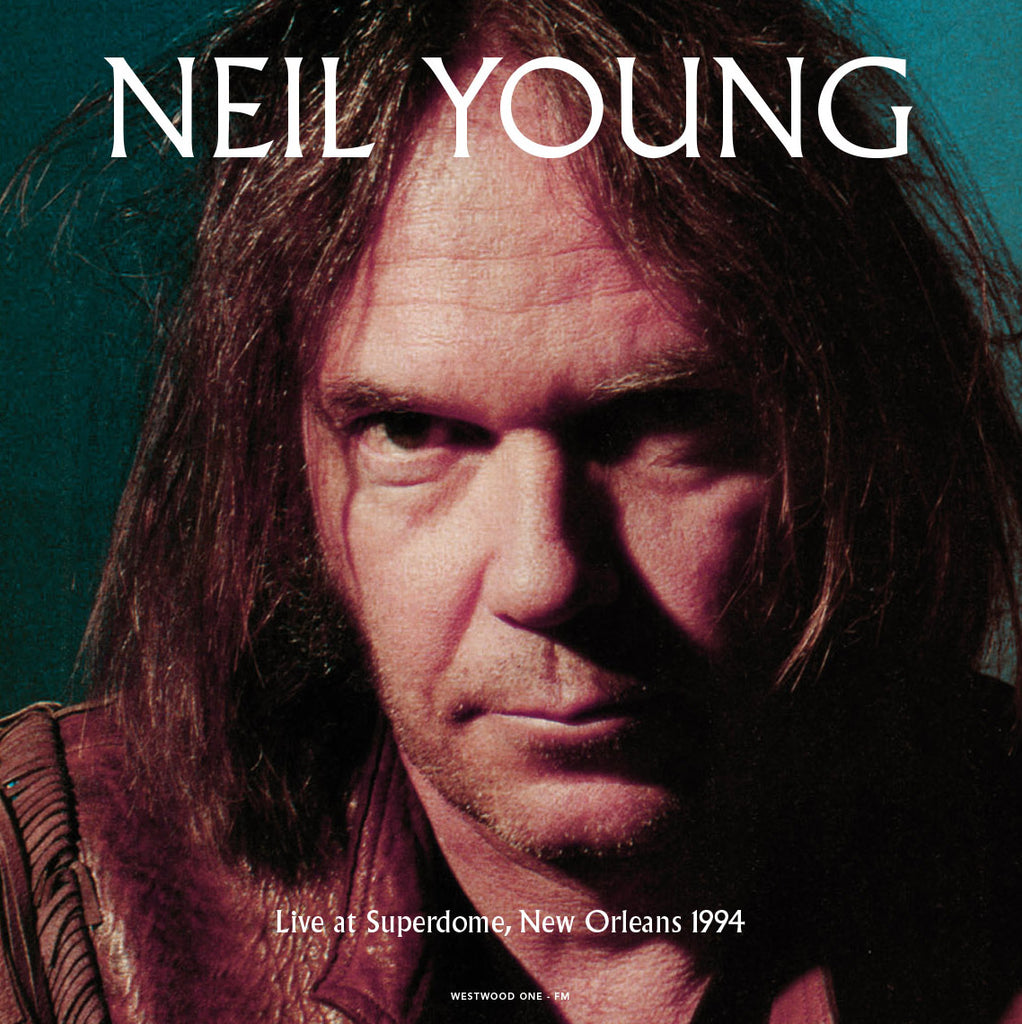 Neil Young - Live at the Superdome Live '94 - Limited 180g COLORED vinyl