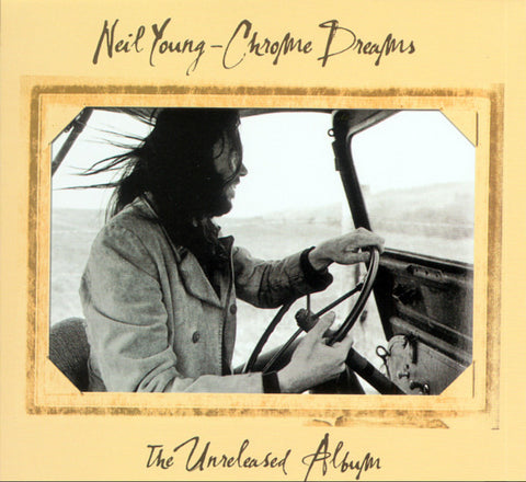 Neil Young - Chrome Dreams - import LP on colored vinyl