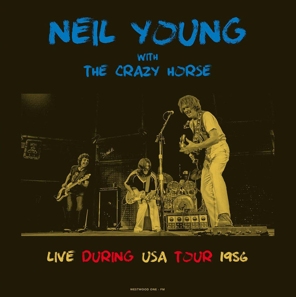 Neil Young Live during his USA tour Nov 1986 - import 2 180g LP set