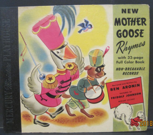 New Mother Goose Rhymes - Mercury Records 78rpm Album