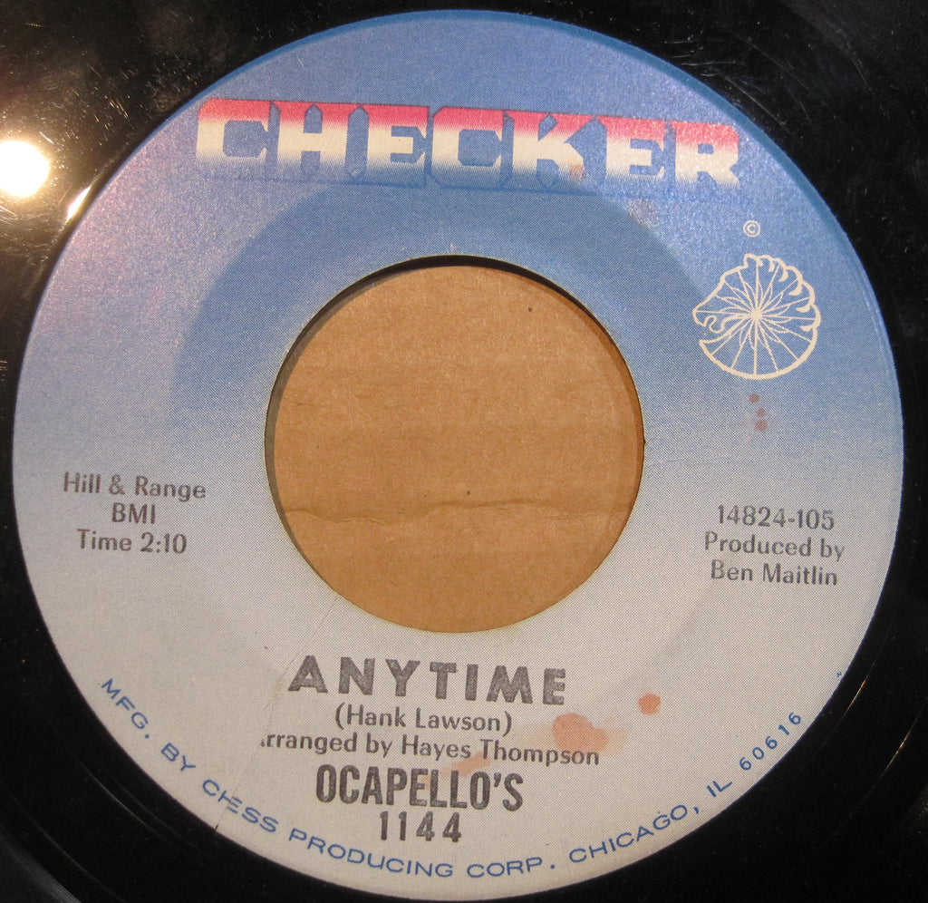 Ocapello's - Anytime b/w The Stars