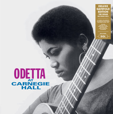 Odetta - Odetta at Carnagie Hall - Import LP on 180g