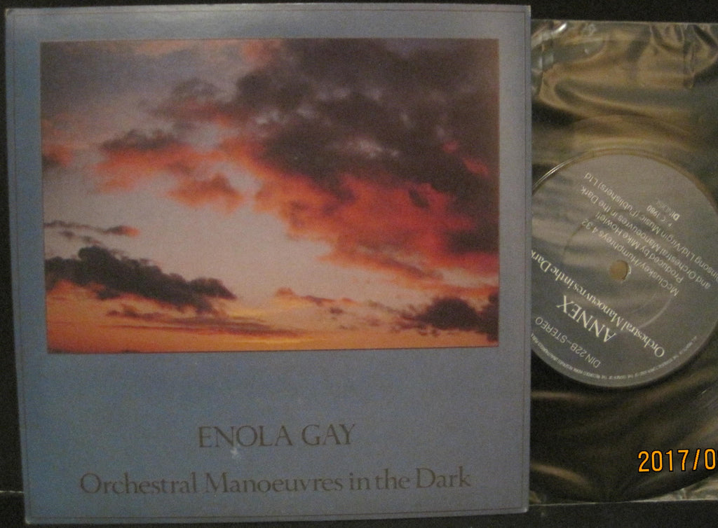 Orchestra Manoeuvres In The Dark OMD - Enola Gay b/w Annex