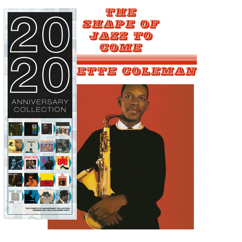 Ornette Coleman - The Shape of Jazz to Come - 180g import on colored vinyl 20/20 series
