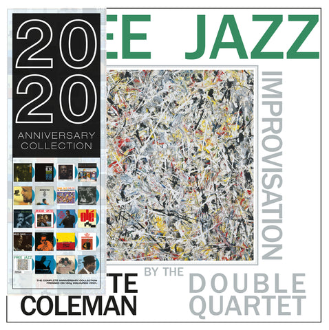 Ornette Coleman - Free Jazz - 180g import on colored vinyl 20/20 series