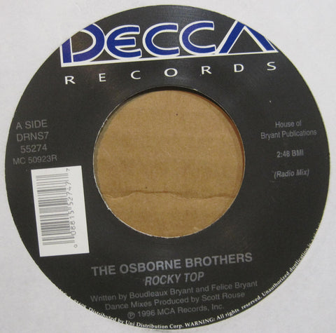 Osborne Brothers - Rocky Top (Radio Mix) b/w Rocky Top (Original Version)