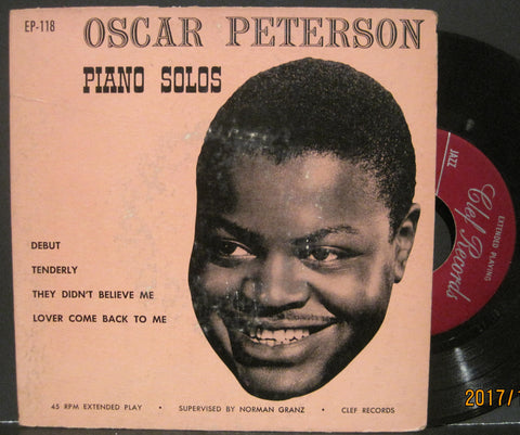 Oscar Peterson - Piano Solos