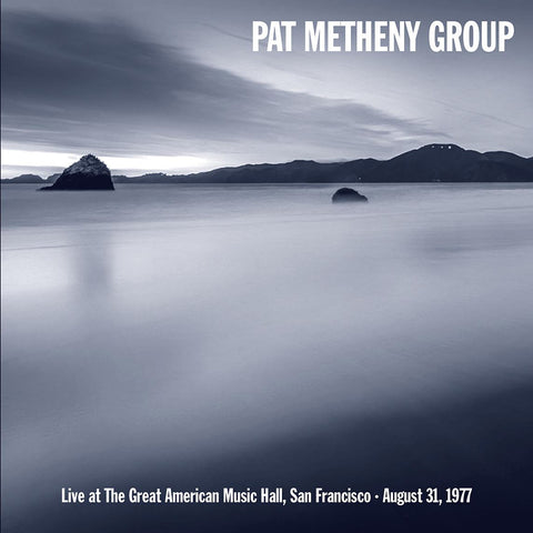 Pat Metheny Group - Live at GAMH in 1977 - 180g import LP