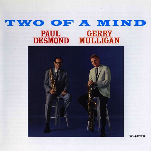 Gerry Mulligan & Paul Desmond - Two of a Mind 180g audiophile VINYL