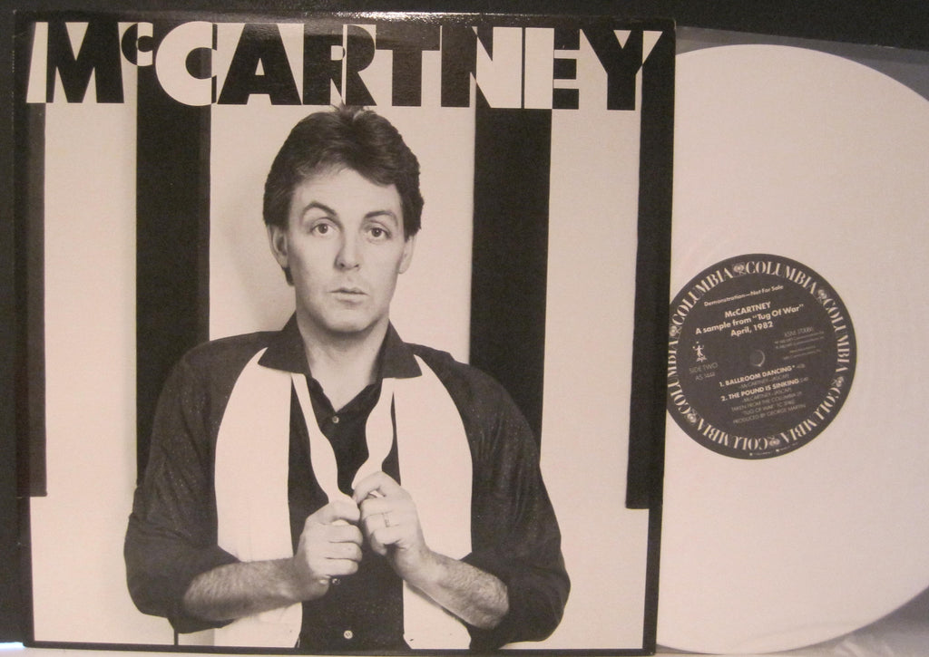 "Paul McCartney - Promo 12"" Sampler From Tug Of War"