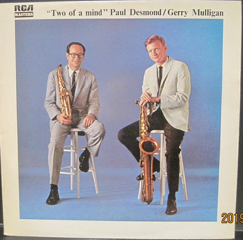 Paul Desmond and Gerry Mulligan - Two of a Mind