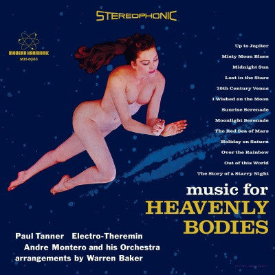 Paul Tanner - Music for Heavenly Bodies - Colored Vinyl!