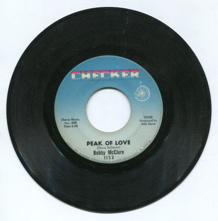 Bobby McClure - Peak of Love/ You Got me Baby