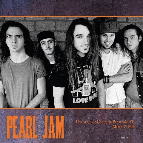 Pearl Jam - Live in Florida 1994 - import 180g 2 LP set