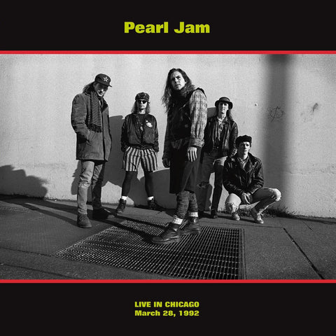 Pearl Jam - Live in Chicago 1992 - import 180g LP on LTD colored vinyl