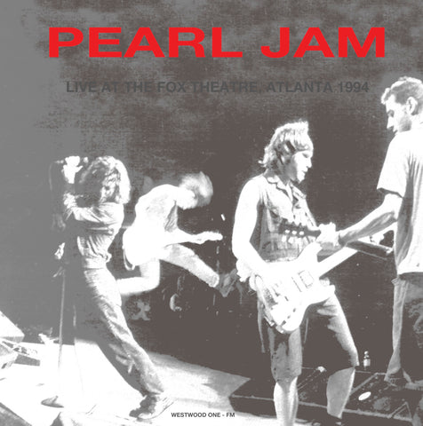Pearl Jam - Live at the Fox Theater, Atlanta 1994 - import 180g LP
