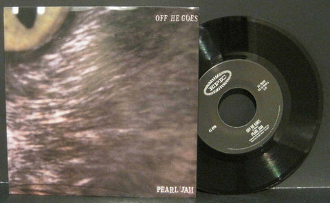 Pearl Jam - Off He Goes b/w Dead Man