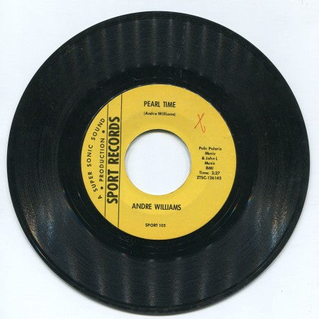Andre Williams - Pearl Time/ Soul Groove