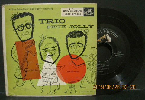 Pete Jolly Trio RCA Ep