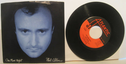 Phil Collins - One More Night b/w The Man with the Horn