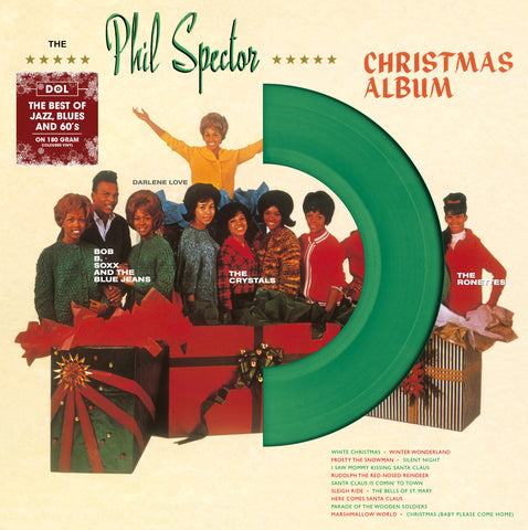 Phil Spector and Various Artists - The Phil Spector Christmas Album (Green Vinyl)