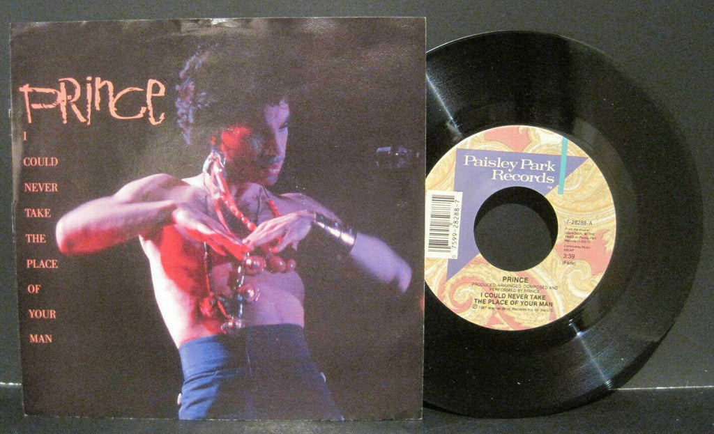 Prince - I Could Never Take The Place of Your Man b/w Hot Thing