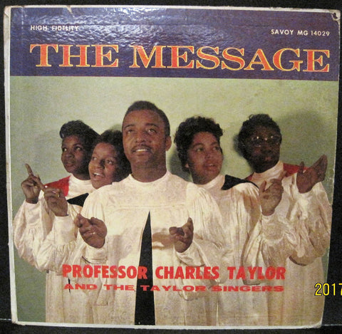 Professor Charles Taylor - The Message