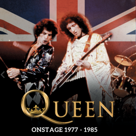 Queen - OnStage 1977-1985- Limited 2 LP set on BLUE Vinyl Live Broadcasts