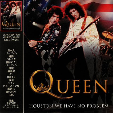 Queen - Houston We Have No Problem - Live in 1977 - on Colored Vinyl