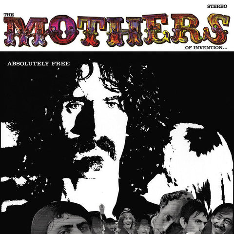 Mothers of Invention - Absolutely Free 180g 2 LP set w/ libretto 50th anniversary