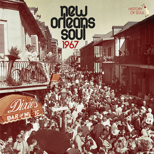 Various Artists - New Orleans Soul 1967 - 2018 RSD title - import