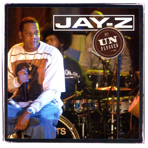 Jay-Z Unplugged - limited edition 2 LP import on colored vinyl