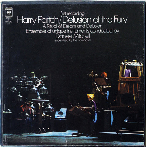 Harry Partch - Delusions of the Fury - 180g 2 LP set